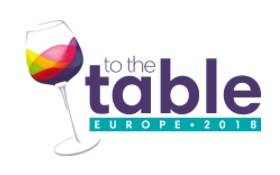 TO THE TABLE Europe 2018