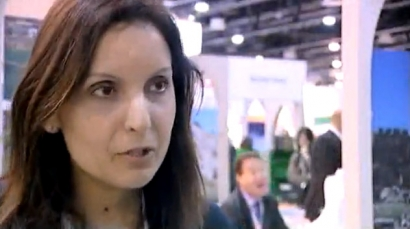 Joyce Mouawad, Corporate Sales & Marketing Director, Le Royal Hotel, Beirut @ ATM 2010