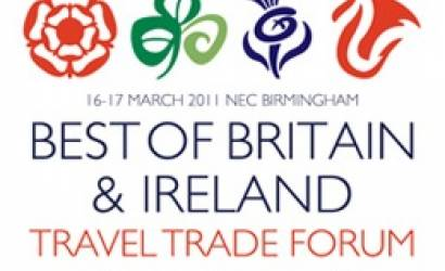 Boat sails into Birmingham STAND F26 at Best of Britain & Ireland Show