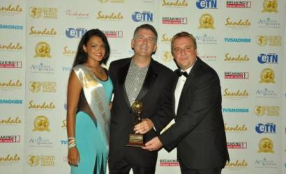 Rovia honoured at 2013 World Travel Awards