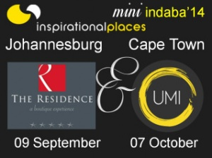 Inspirational Places mini indabas South Africa