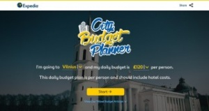Expedia Helps Holidaymakers Plan City Break Budgets