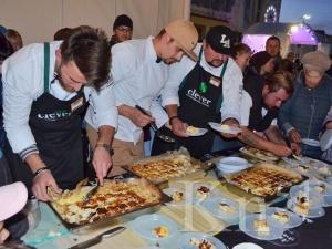 A gastronomic festival in the north Russia
