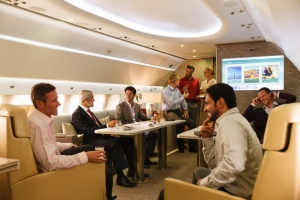 Phil Blizzard discovers the Emirates Executive luxury private jet