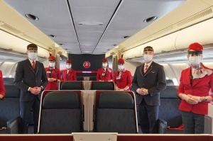 IATA calls for face coverings and opposes onboard social distancing
