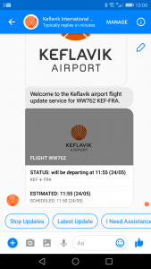 Easier access to flight information