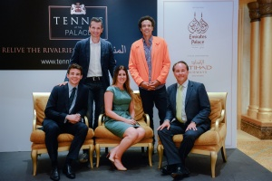 Tennis legends to serve at Emirates Palace, Abu Dhabi