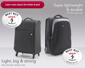 Lightweight luggage - Every gram counts