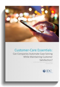 Can companies benefit from case solving automatization while maintaining customer satisfaction?