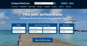 CompareThatCruise.com launches UK's first price comparison site for cruises