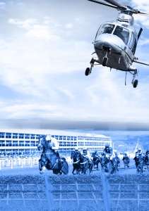 VIP Helicopter Transfers & Exclusive-Use Charter Flights to the 2015 Cheltenham Festival