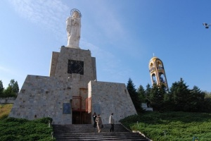 The highest statue of the Virgin Mary in the world is in Haskovo, Bulgaria