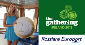 Celtic Link Ferries Sail from France to Ireland for €1 -The Gathering 2013