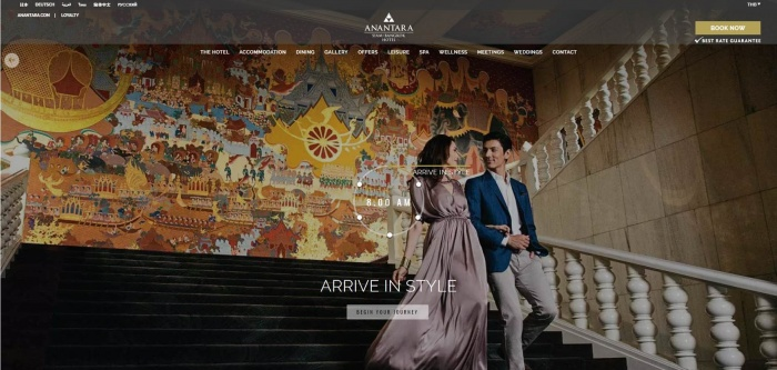Anantara enhances website with new video content