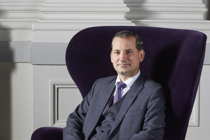 Breaking Travel News interview: Andreas Maszczyk, InterContinental Edinburgh – the George