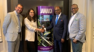 Jamaica minister of tourism promotes destination in Paris