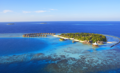 Guests invited to the award winning Baros Maldives