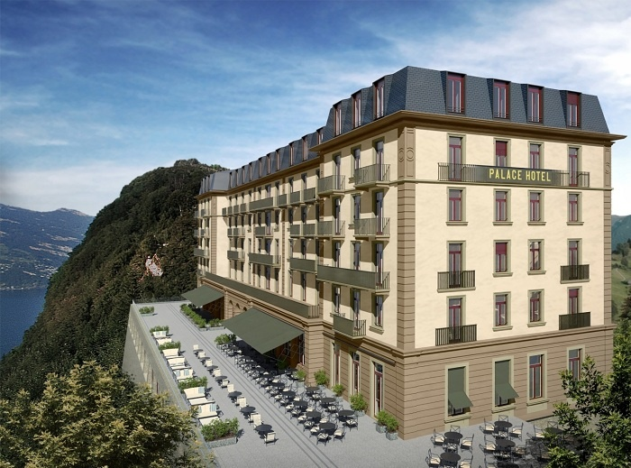 Bürgenstock Resort Lake Lucerne to reopen in August