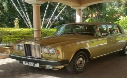 Coco Reef Resort & Spa welcomes new Rolls Royce Silver Shadow to Tobago
