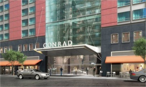 Conrad New York opens its doors