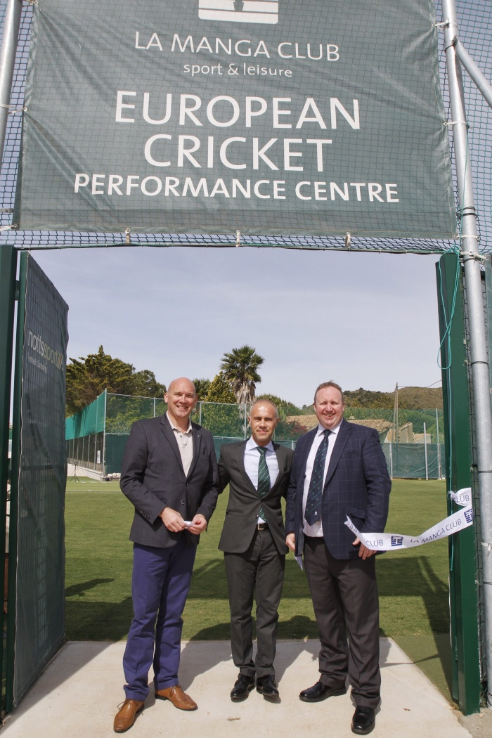 La Manga Club welcomes European Cricket Performance Centre