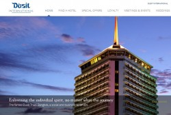 Dusit International launches new website
