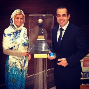 Ece Vahapoğlu calls in at Raffles Makkah Palace