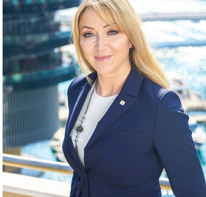 Tsolakou takes up leadership of Address Dubai Marina