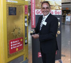 Emirates Palace unveils gold dispensing ATM
