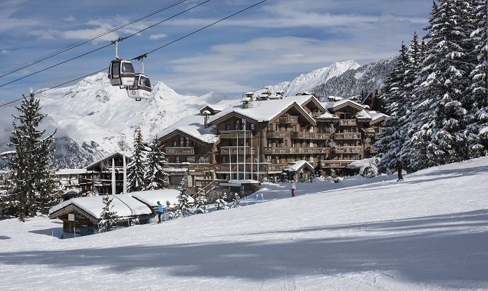Grandes Alpes, Courchevel 1850 welcomes new Bellefontaine spa