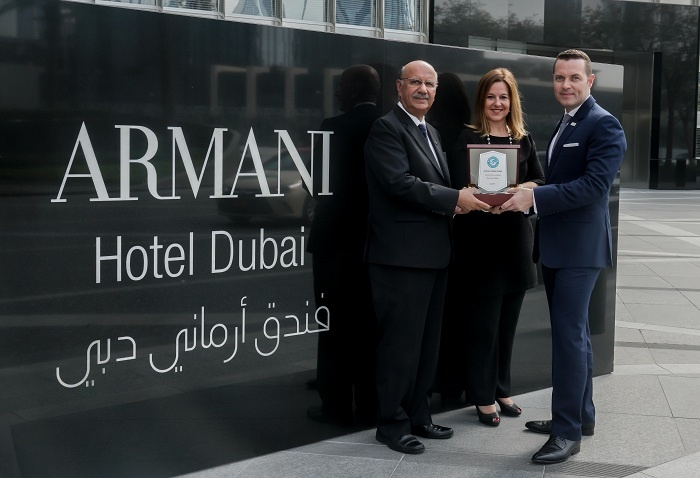 Armani Hotel Dubai wins Green Globe accreditation