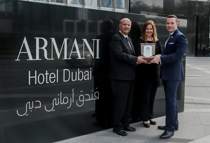 News: Armani Hotel Dubai wins Green Globe accreditation