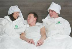 Holiday Inn launches the first human bed warming service as more snow is forecast