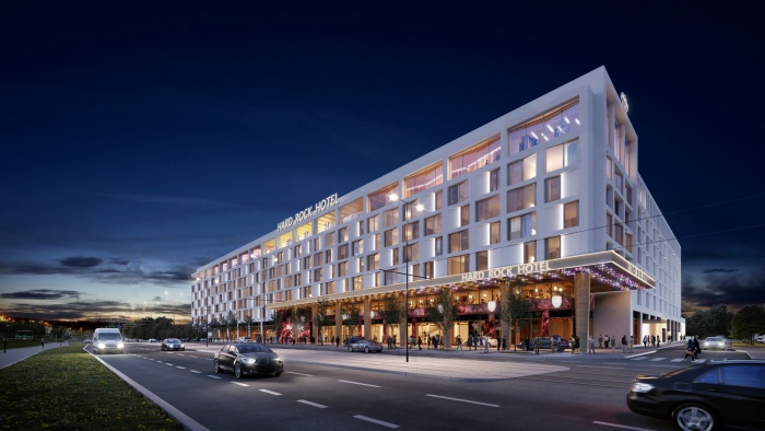 Hard Rock Hotel Prague pencilled in for 2023 opening