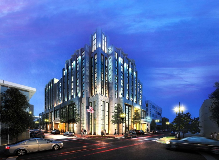 Higgins Hotel & Conference Centre to open in New Orleans