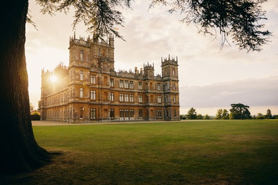 Stay at Downton Abbey with Airbnb