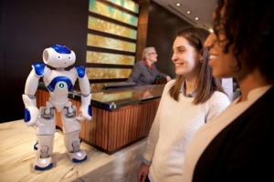 Hilton trials robot concierge