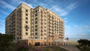 "Luxury Tuscan style hotel ""Hotel Granduca Austin"" begins construction"