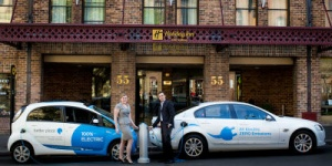 IHG establishes Australia's first electric car network for hotels