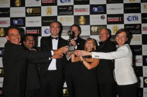 Jebel Ali International Hotels win at the World Travel Awards Middle East Ceremony