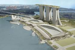 Marina Bay Sands opens to public