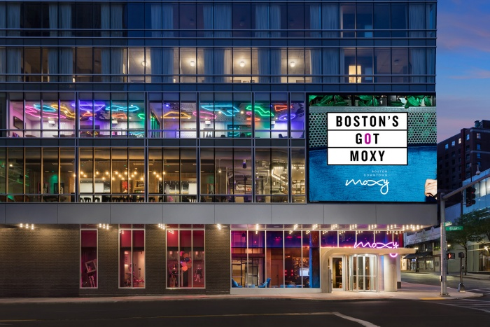 Moxy Boston Downtown opens to guests in United States