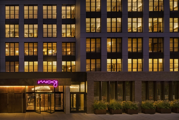Moxy NYC East Village opens to first guests