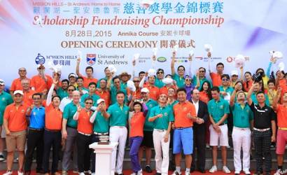 Mission Hills welcomes St Andrews fundraiser to China