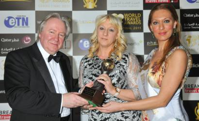 Pam Wilby gets top honours at World Travel Awards