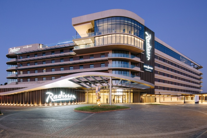 Doors open at Radisson Hotel & Convention Centre, Johannesburg, O.R. Tambo