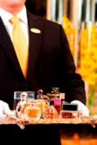 Perfumes galore at Rosewood Corniche