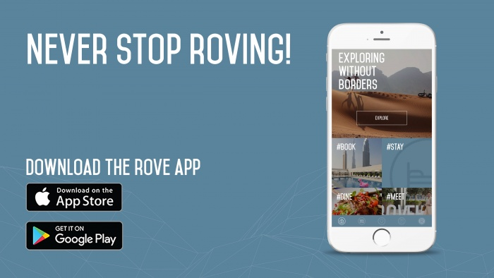 New mobile app from Rove Hotels