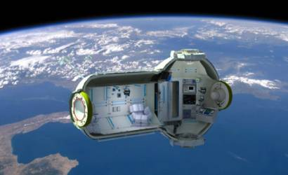 First space hotel gets lift off