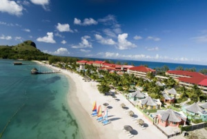 Sandals Resorts On Schedule With First Ever Over-The-Water Suites In St Lucia